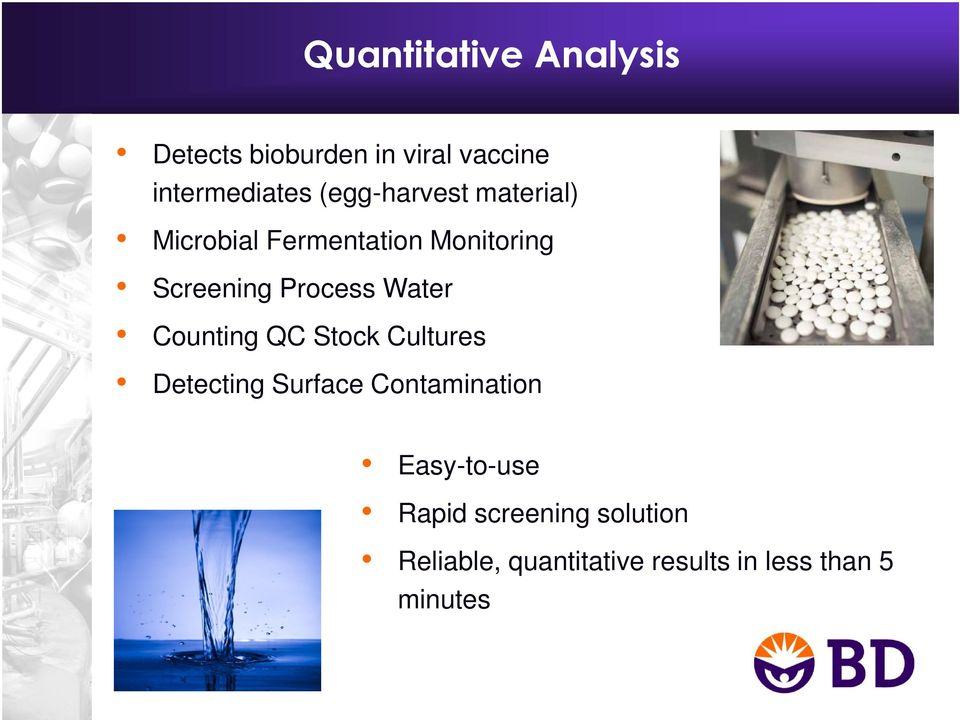 Water Counting QC Stock Cultures Detecting Surface Contamination