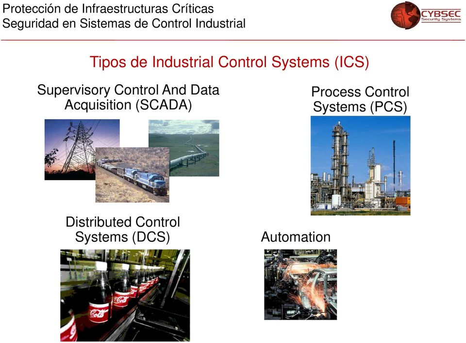 (SCADA) Process Control Systems (PCS)