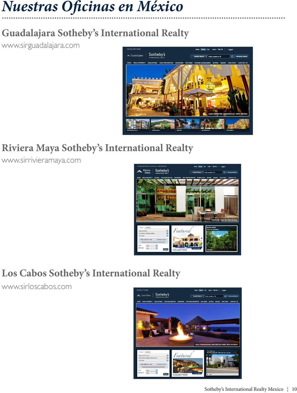 com Riviera Maya Sotheby s International Realty www.