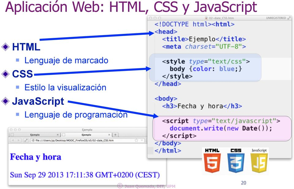 Estilo la visualización JavaScript!