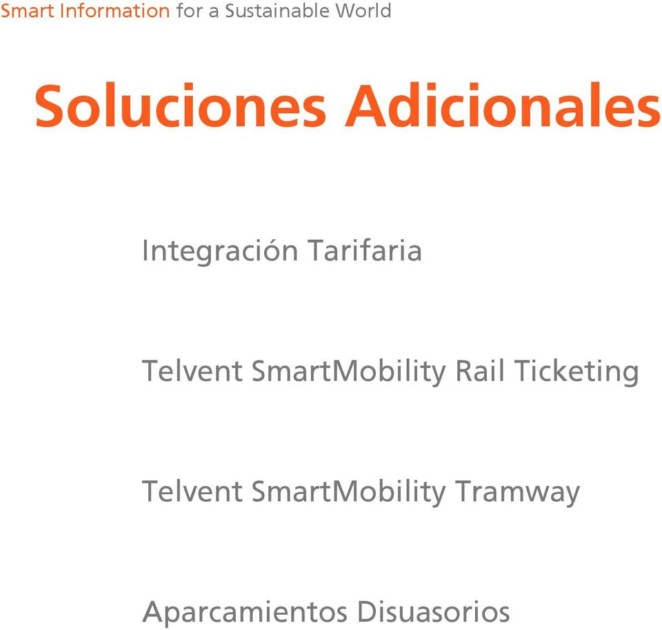 Rail Ticketing Telvent