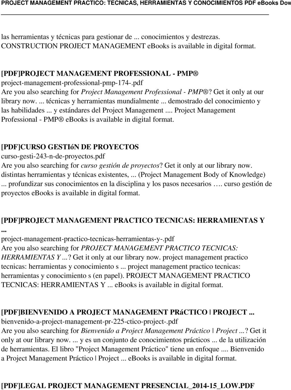 pdf Are you also searching for Project Management Professional - PMP? Get it only at our library now.