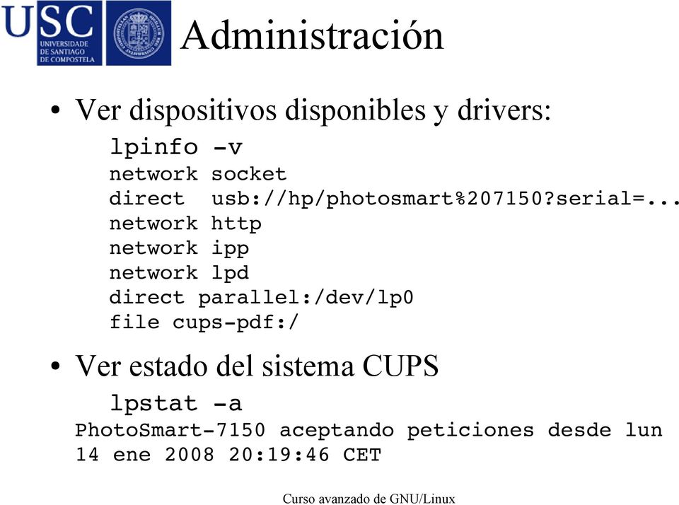 .. network http network ipp network lpd direct parallel:/dev/lp0 file cups