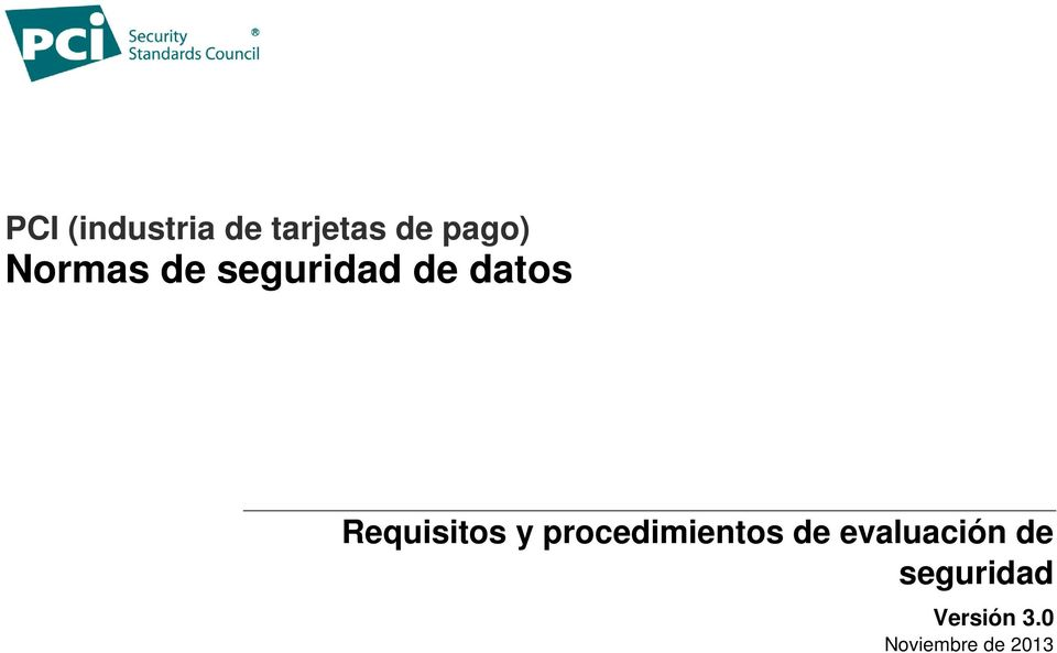 Requisitos y procedimientos de