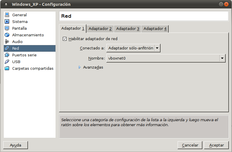 6 / 27 Montando la red local virtual Una vez instalado todo el software anterior procederemos a configurar nuestra red virtual.