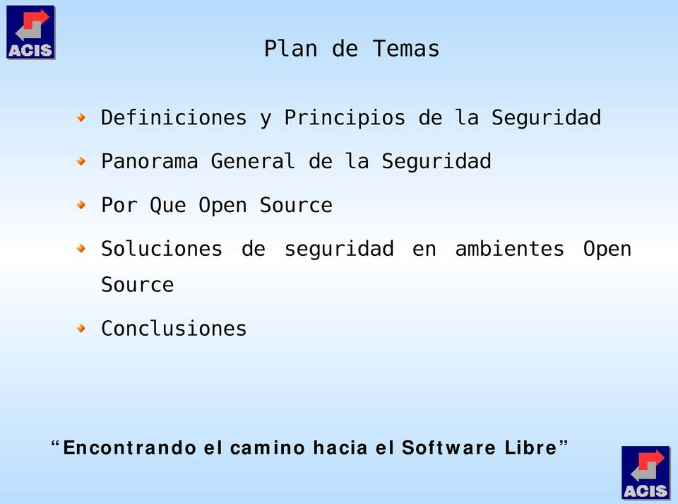 Seguridad Por Que Open Source Soluciones