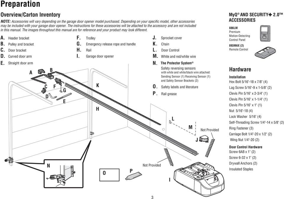 The instructions for these accessories will be attached to the accessory and are not included in this manual. The images throughout this manual are for reference and your product may look different.