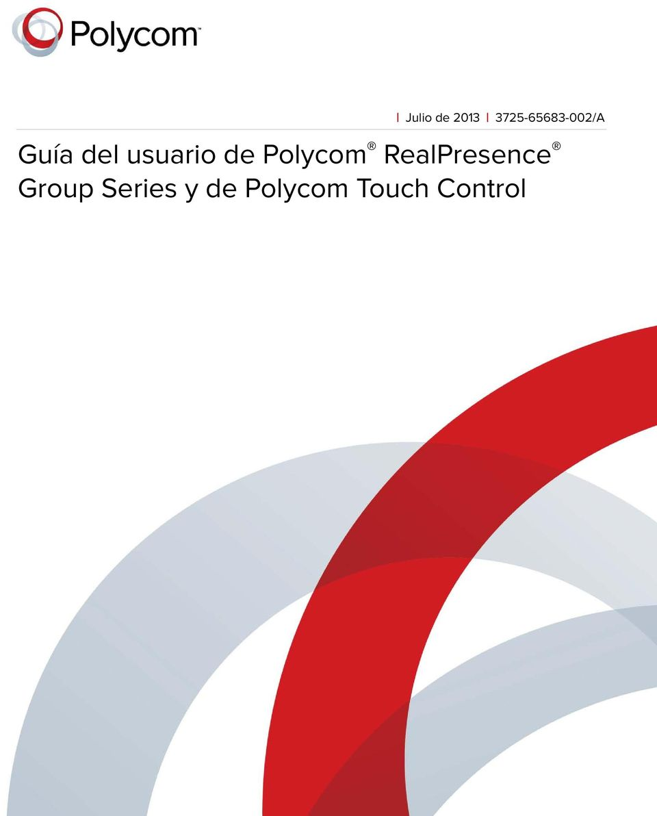 Polycom RealPresence Group Series y de