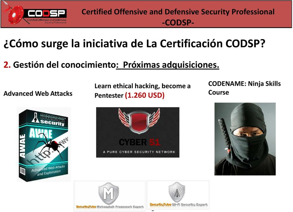 Advanced Web Attacks Learn ethical hacking, become