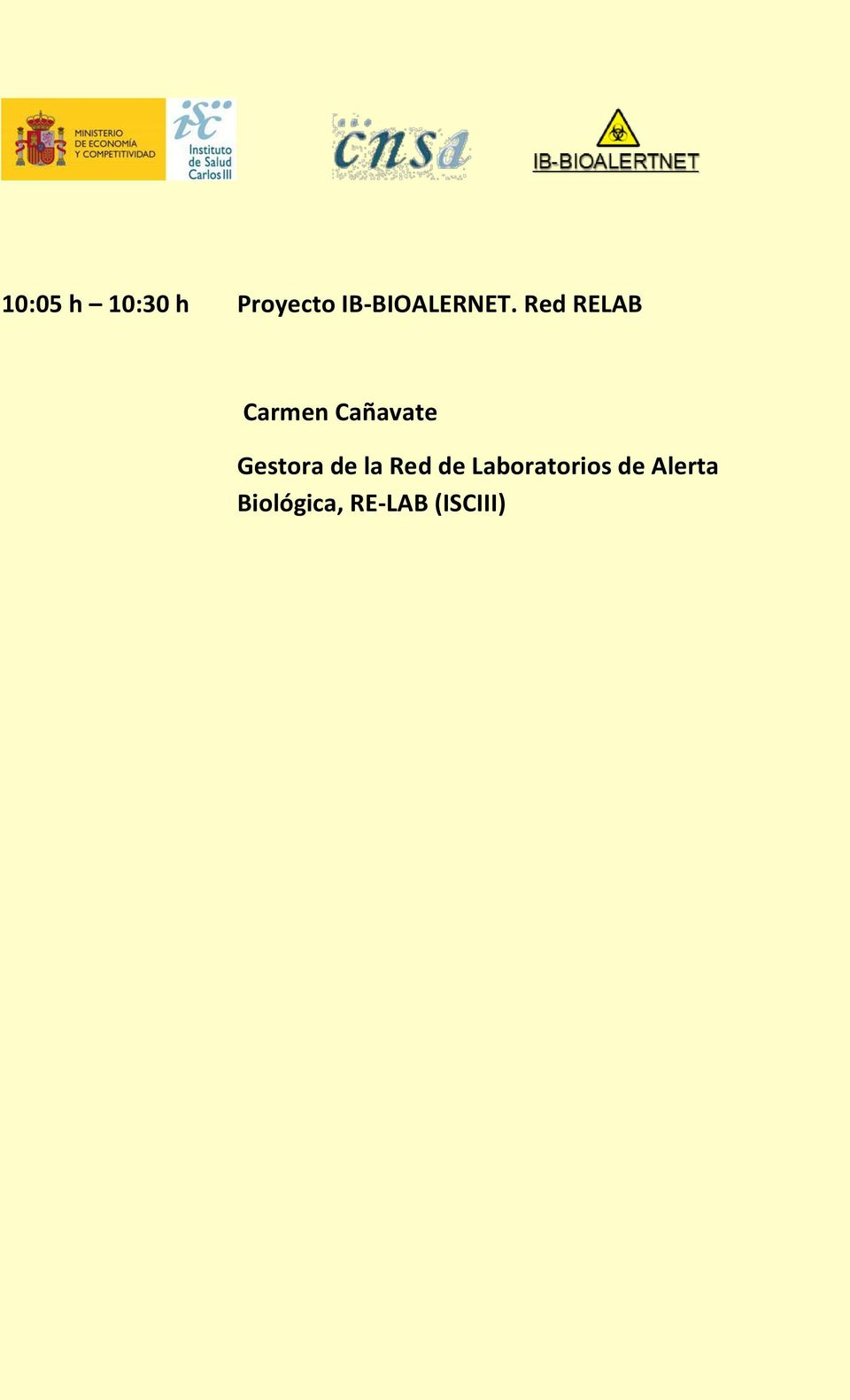 Red RELAB Carmen Cañavate Gestora