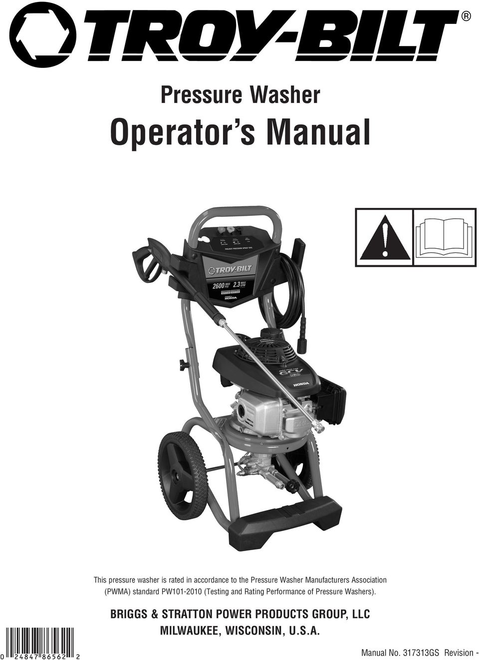 (Testing and Rating Performance of Pressure Washers).