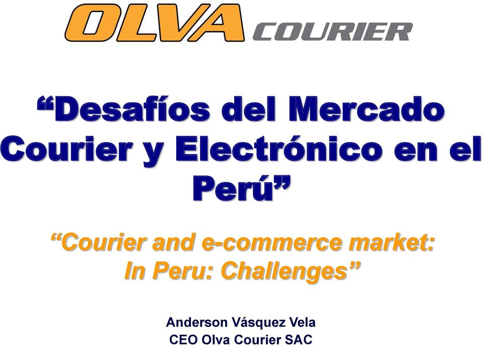 e-commerce market: In Peru: