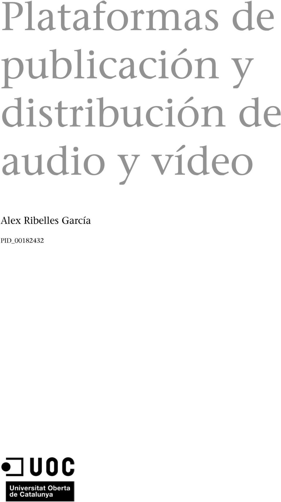 distribución de audio