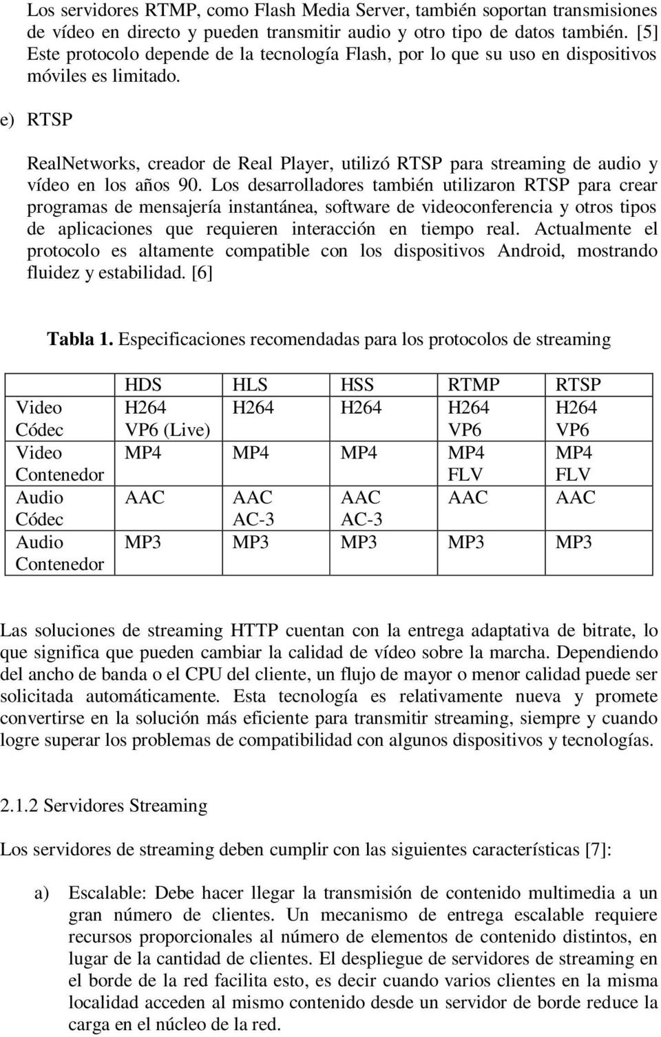 e) RTSP RealNetworks, creador de Real Player, utilizó RTSP para streaming de audio y vídeo en los años 90.