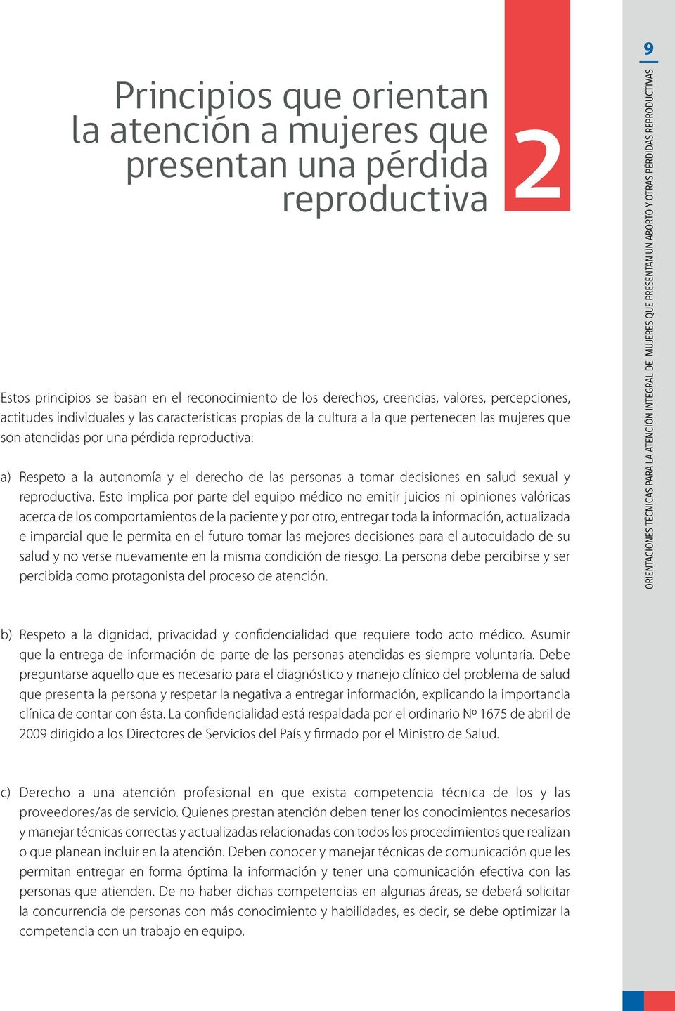 decisiones en salud sexual y reproductiva.