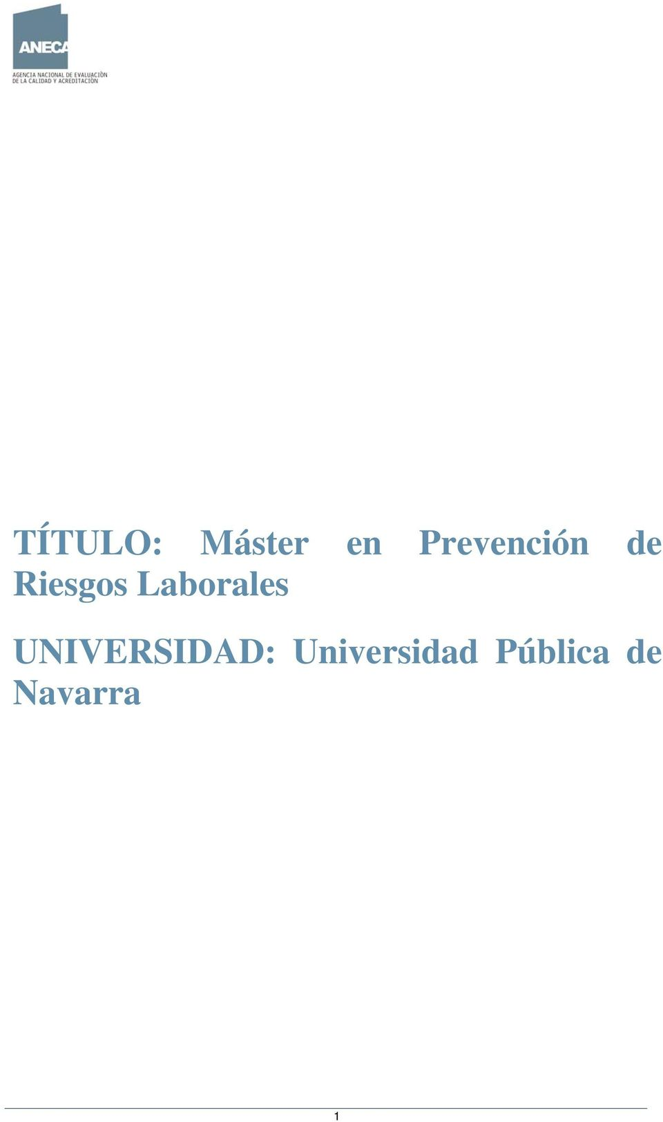 Laborales UNIVERSIDAD: