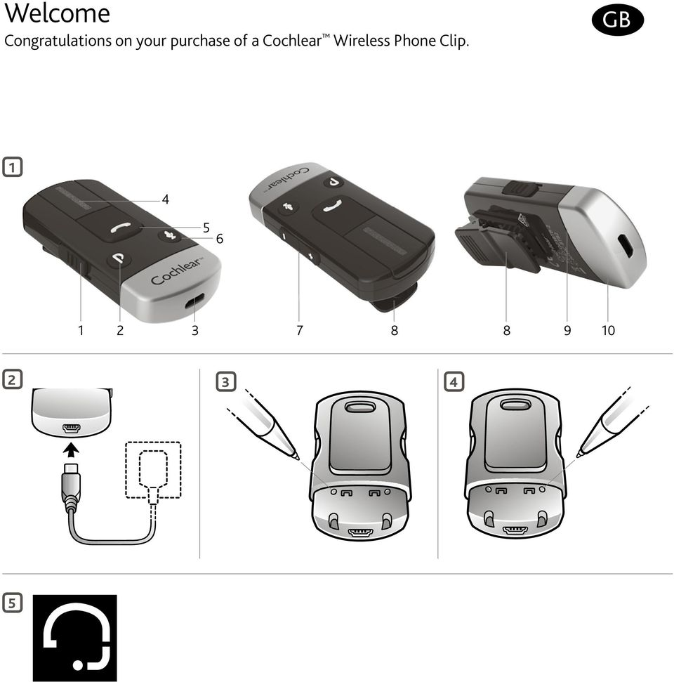 Wireless Phone Clip.