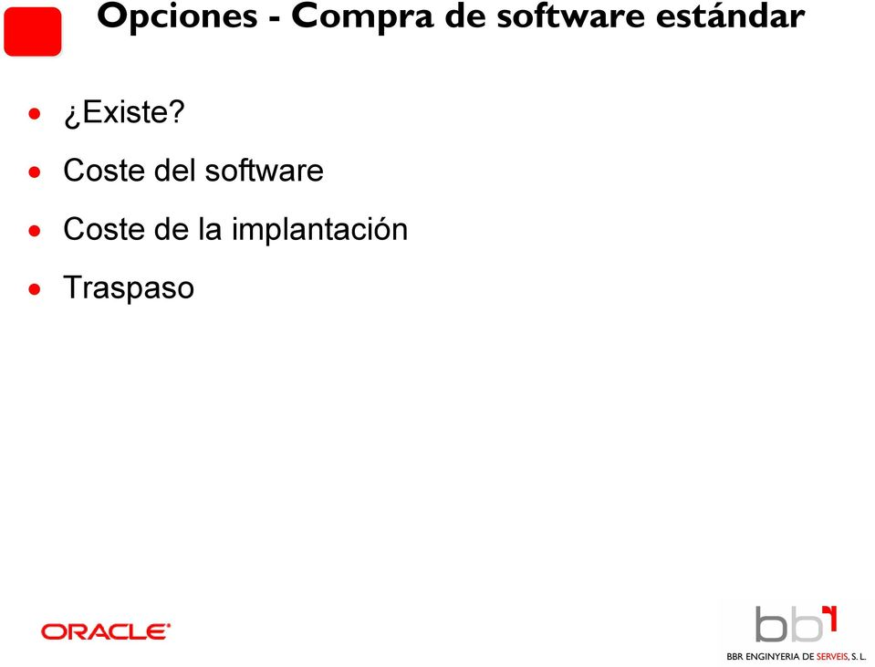 Coste del software Coste