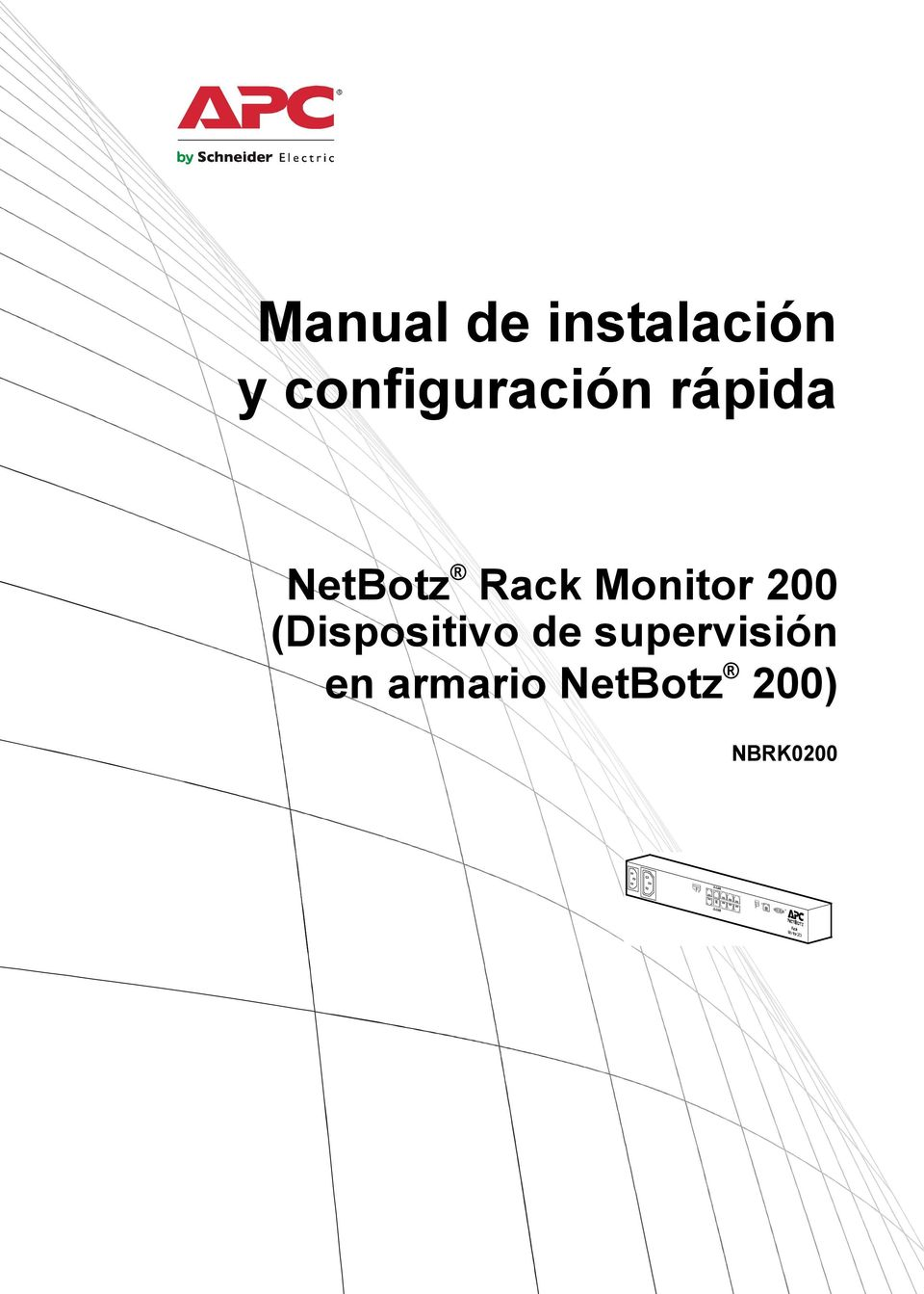 Rack Monitor 200 (Dispositivo de
