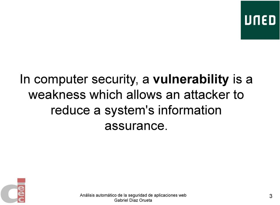 which allows an attacker to
