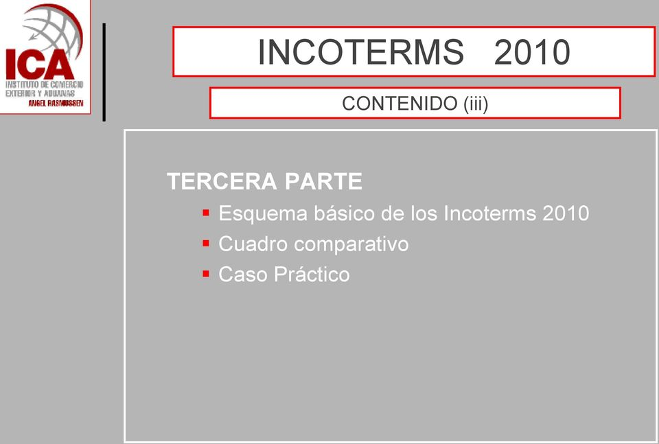 los Incoterms 2010