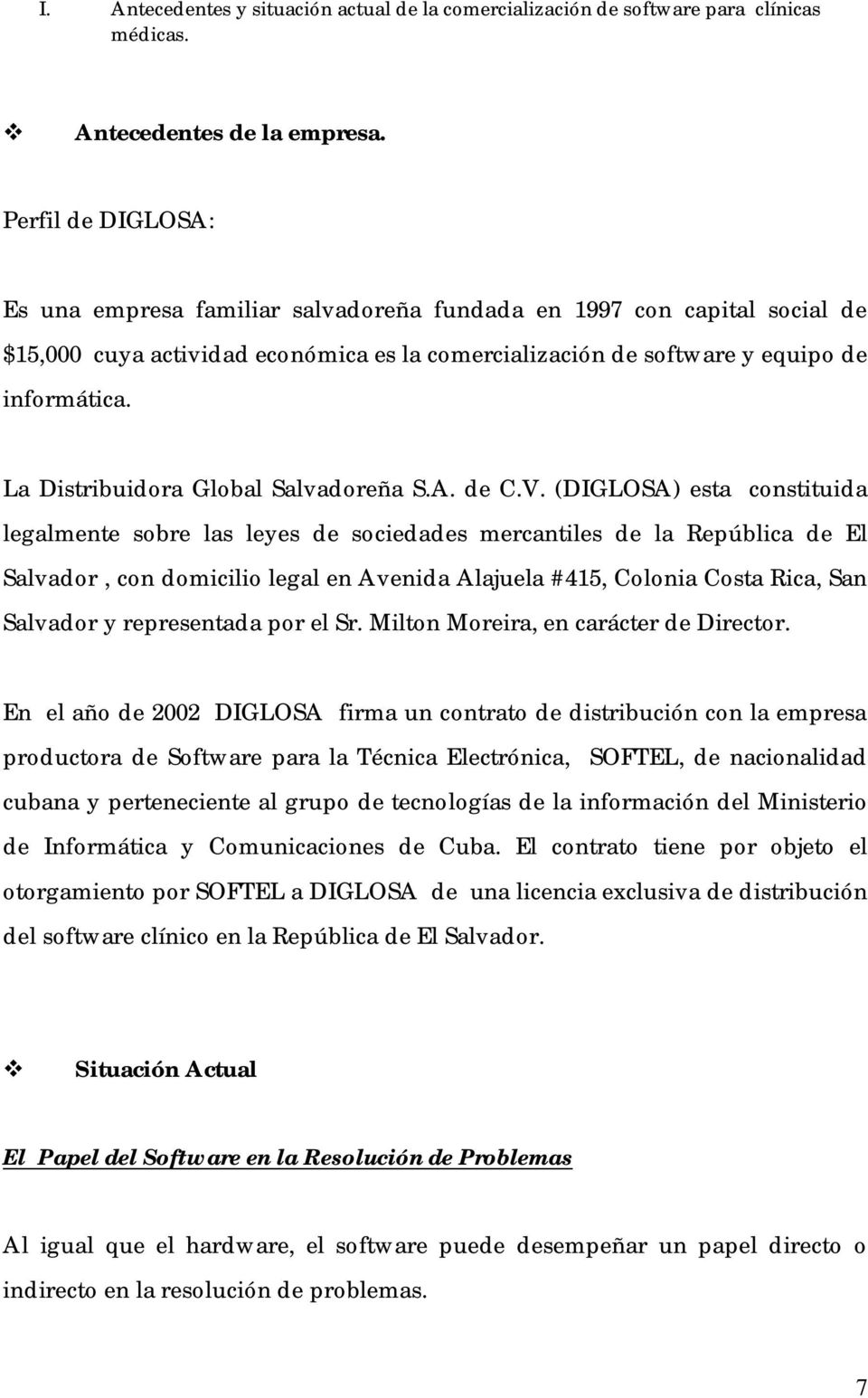 La Distribuidora Global Salvadoreña S.A. de C.V.