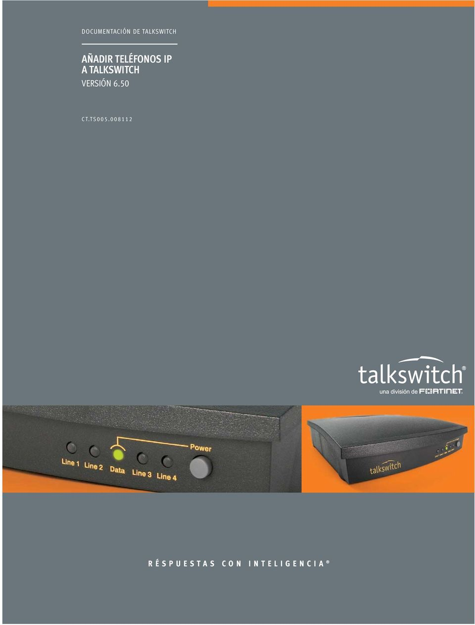 TALKSWITCH VERSIÓN 6.50 CT.