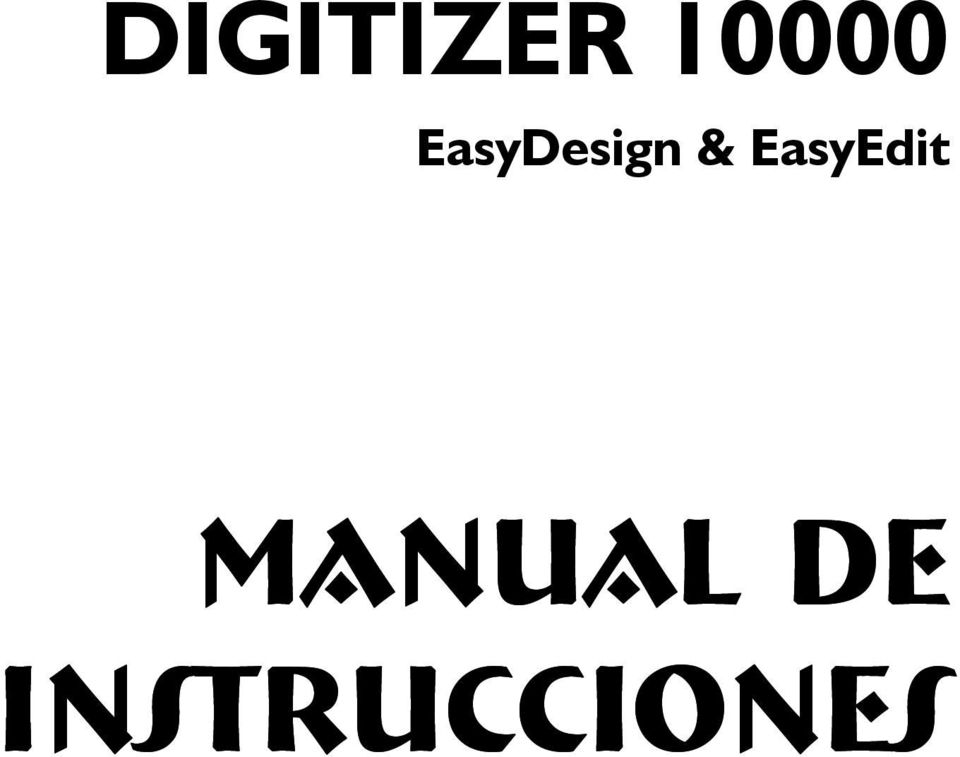 EasyEdit Manual