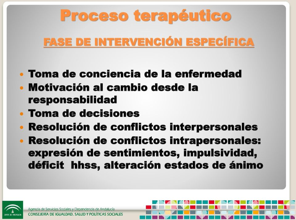 Resolución de conflictos interpersonales Resolución de conflictos