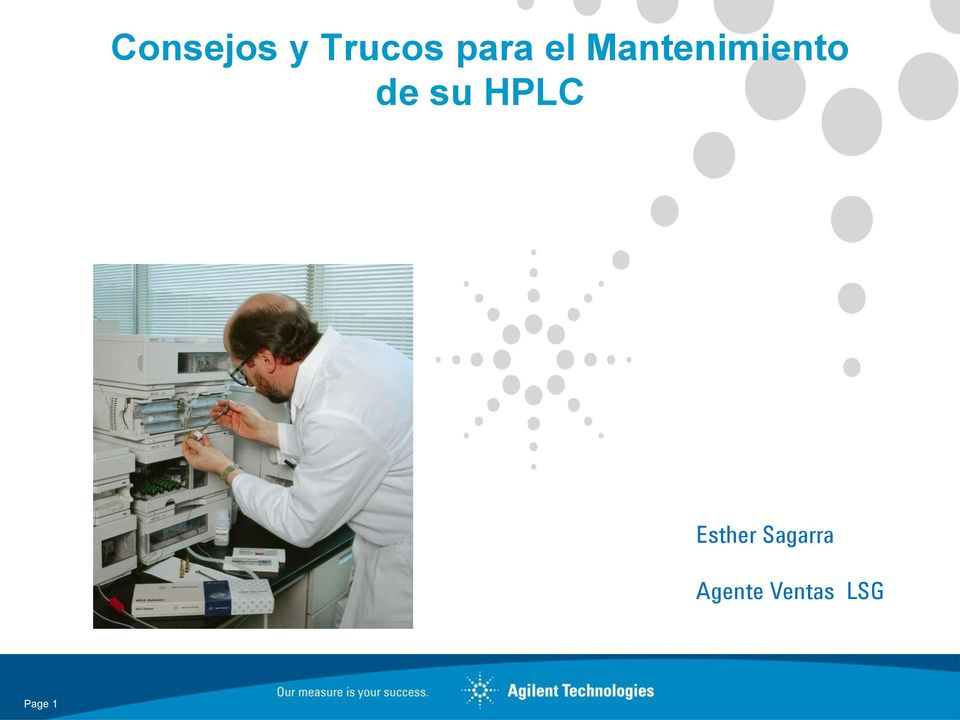 HPLC Esther Sagarra
