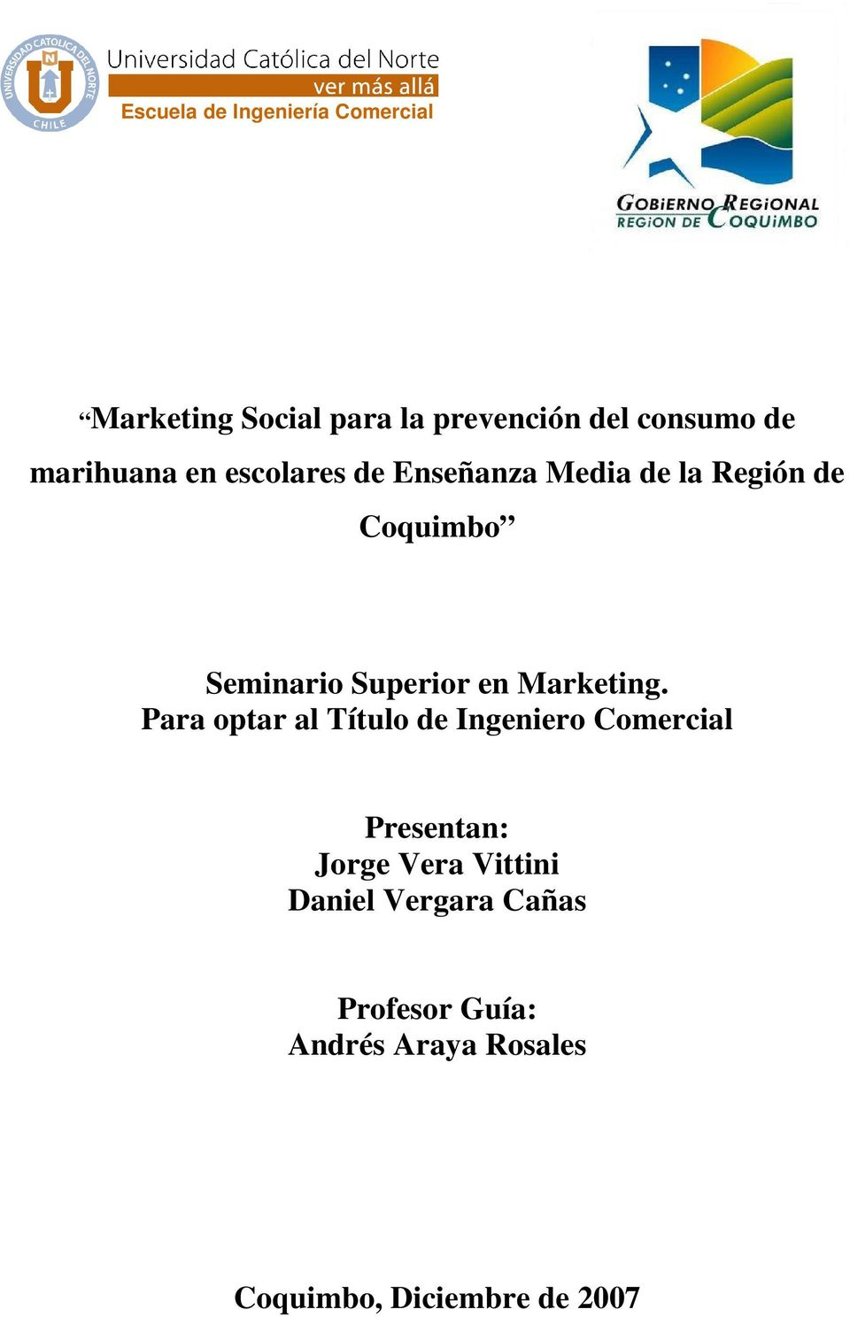 en Marketing.