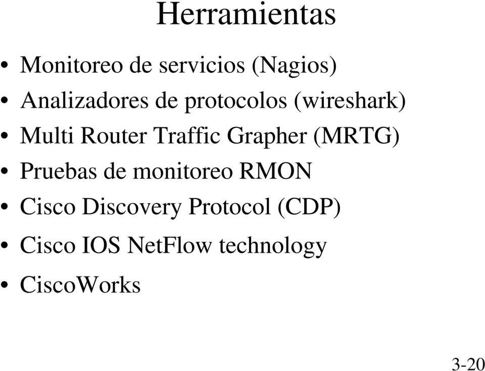 Traffic Grapher (MRTG) Pruebas de monitoreo RMON Cisco