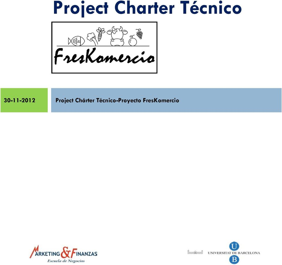 Project Chárter