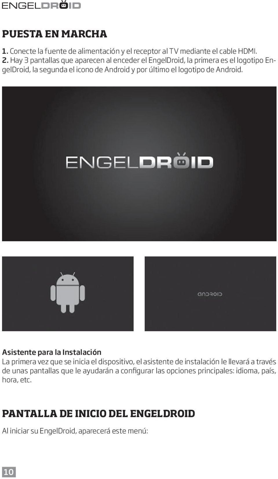 logotipo de Android.