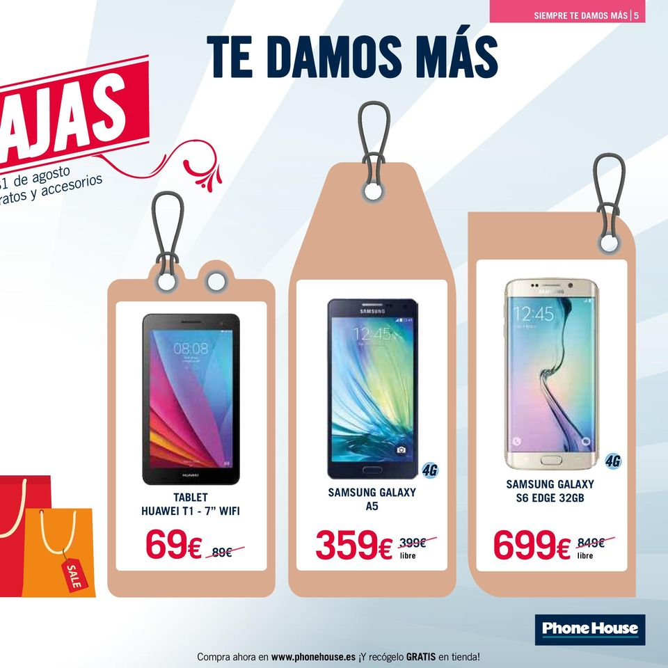 GALAXY A5 SAMSUNG GALAXY S6 EDGE 32GB 69 89 359 399 libre