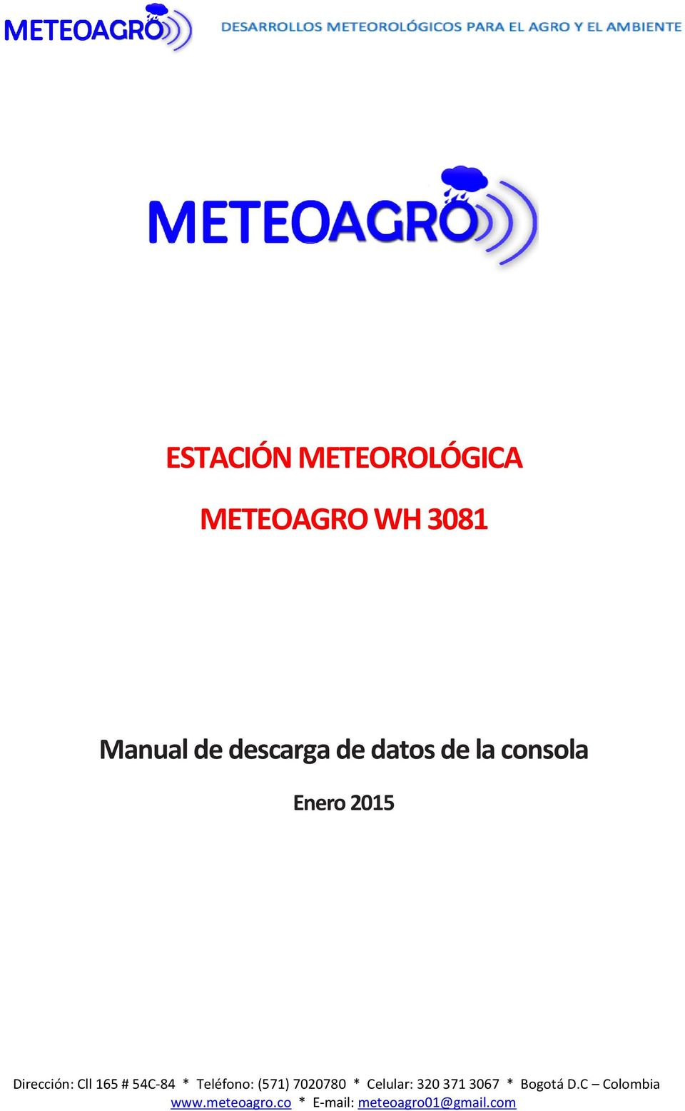 Manual de descarga de