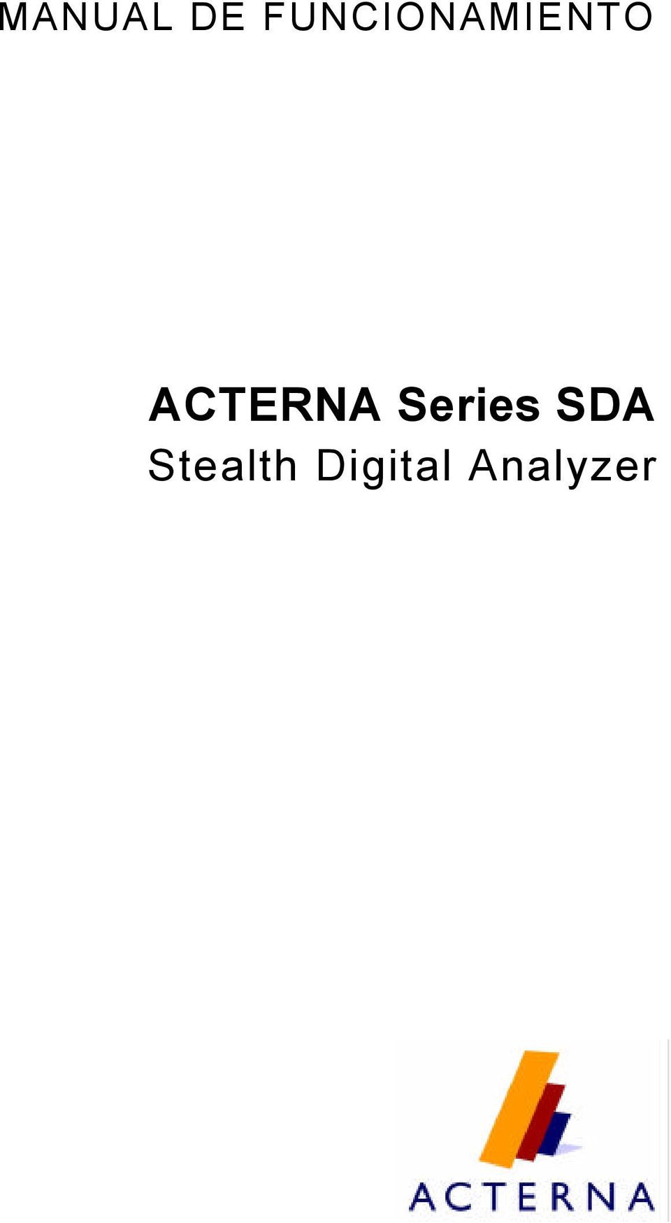 ACTERNA Series