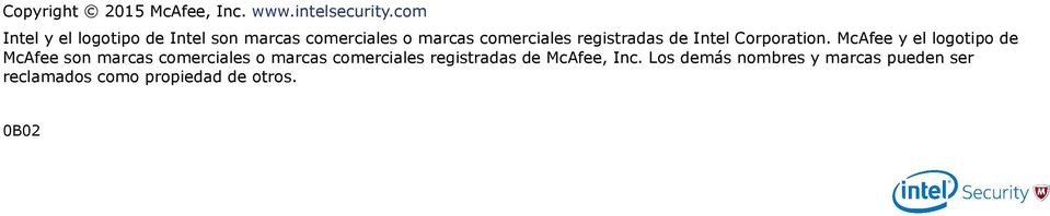 registradas de Intel Corporation.