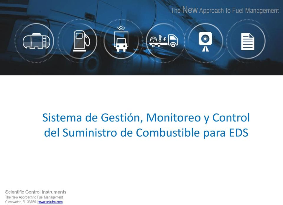Combustible para EDS Scientific Control Instruments