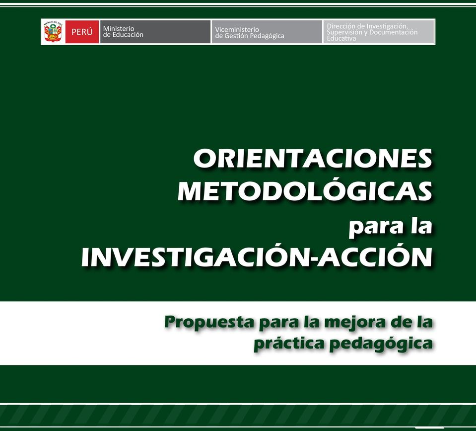 Documentación Educativa Orientaciones Metodológicas para la