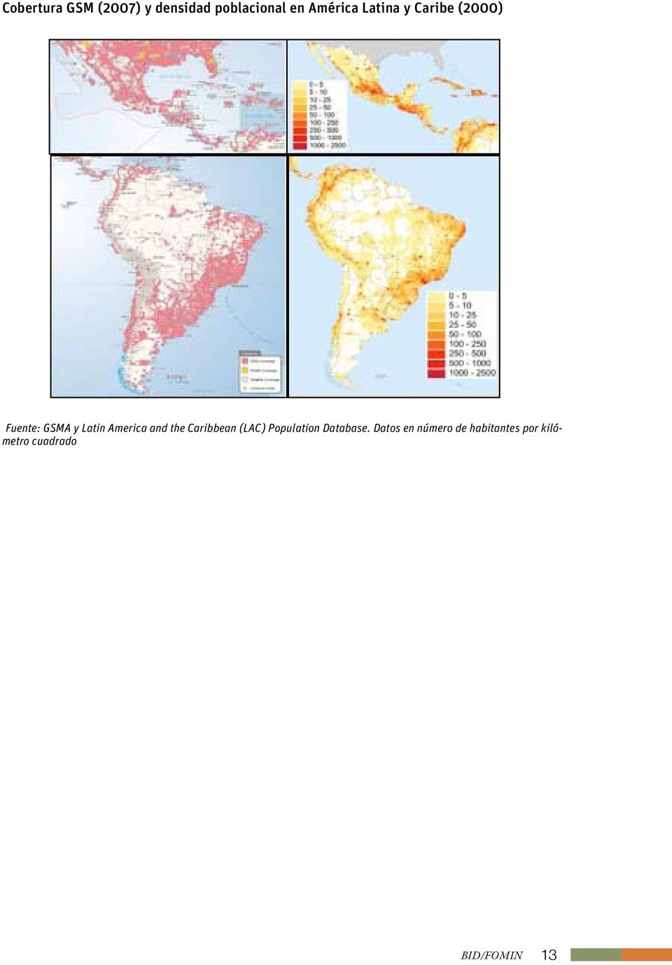 and the Caribbean (LAC) Population Database.