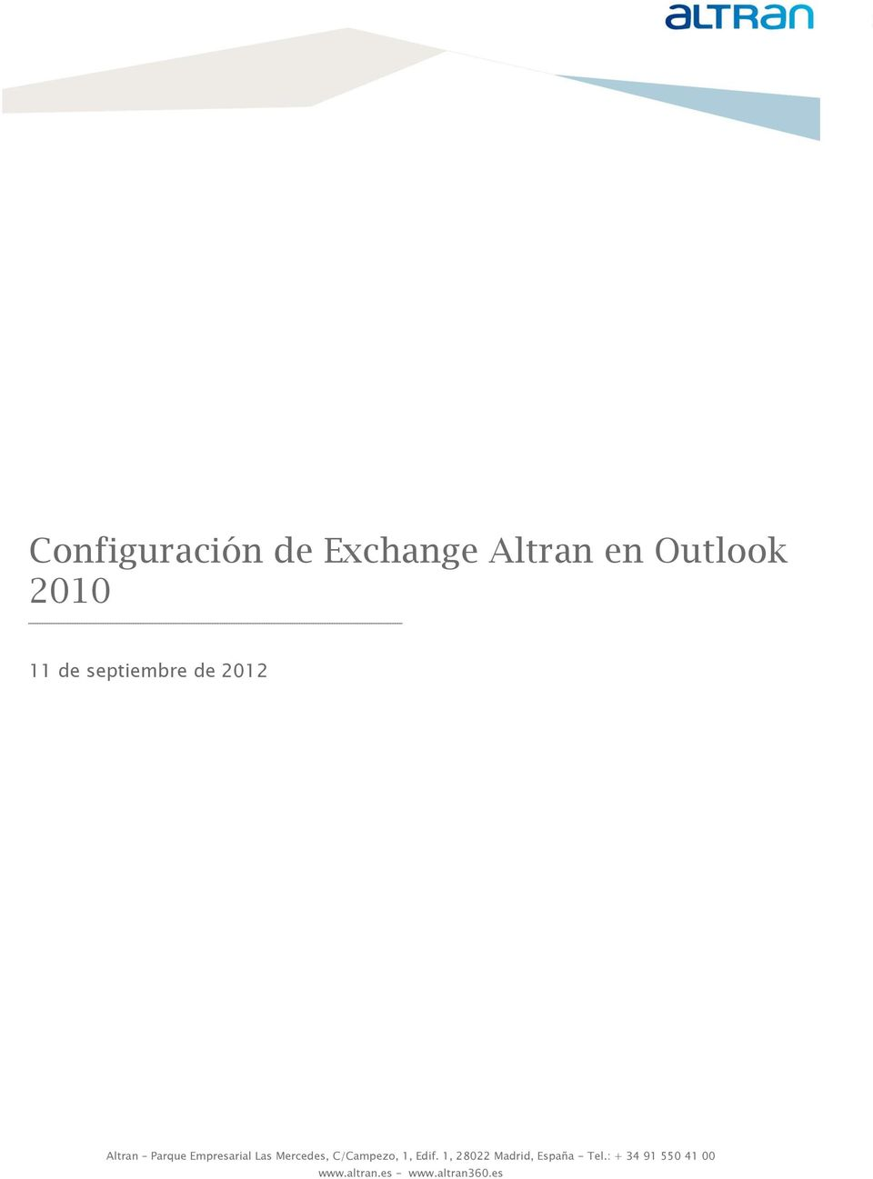 Outlook 2010 11 de