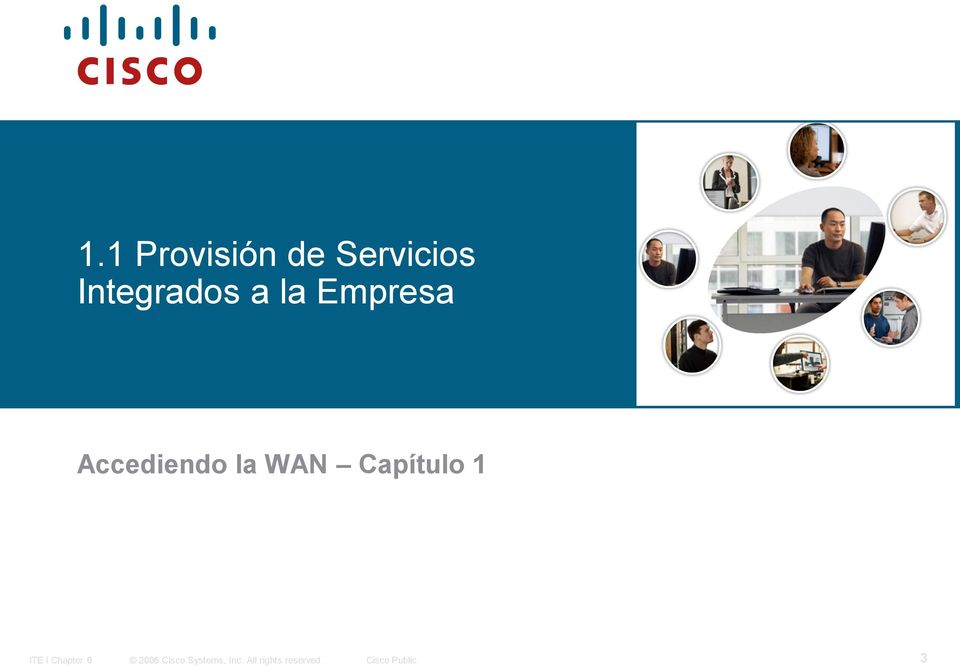 Capítulo 1 ITE I Chapter 6 2006 Cisco