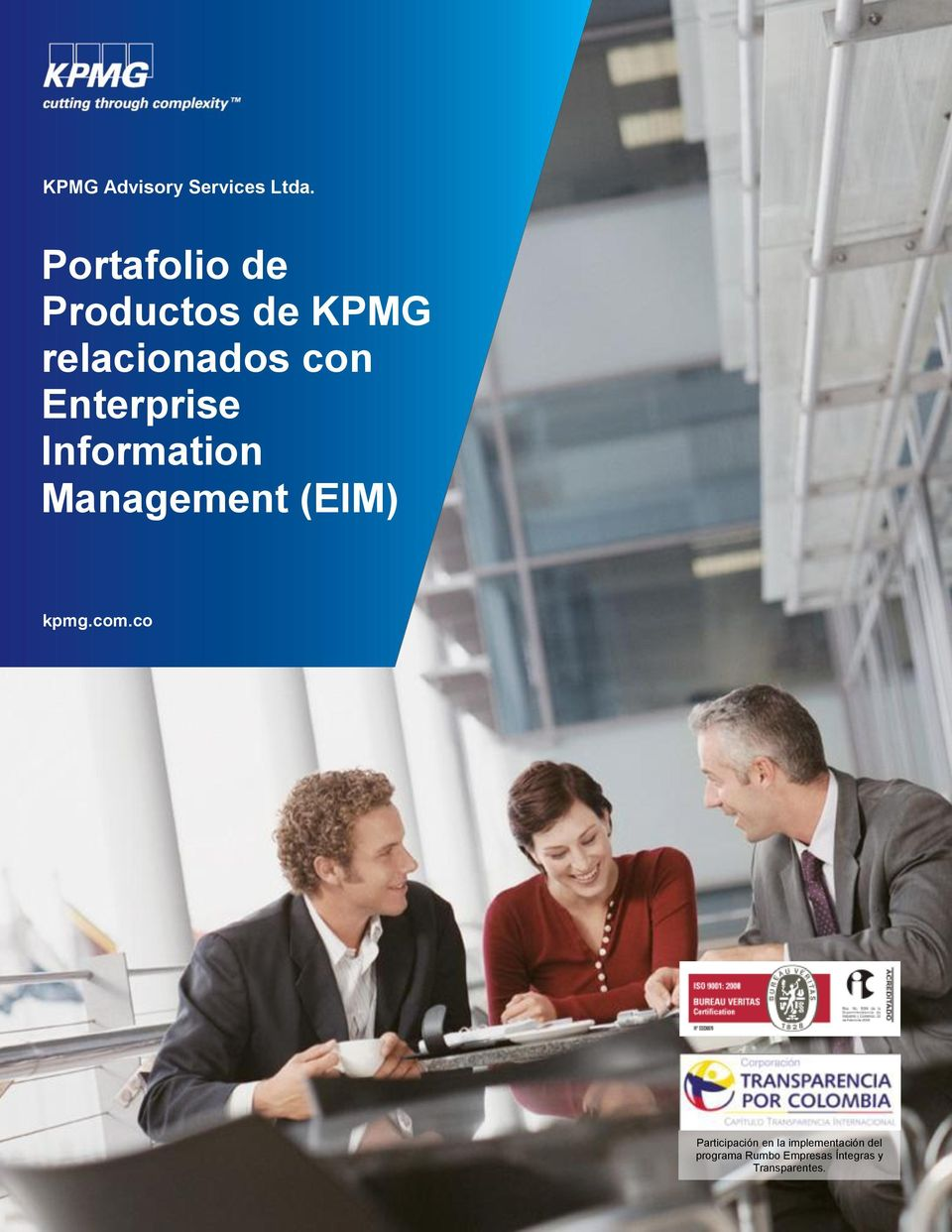Enterprise Information Management (EIM) kpmg.com.