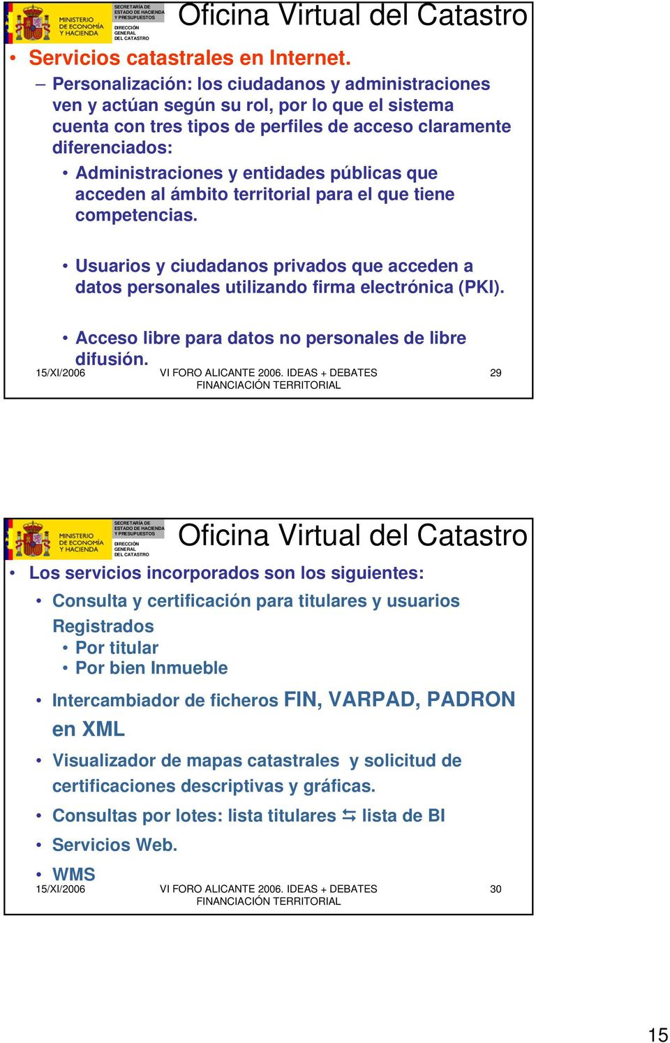 El catastro unificado la cartograf a a catastral pdf for Oficina catastro alicante