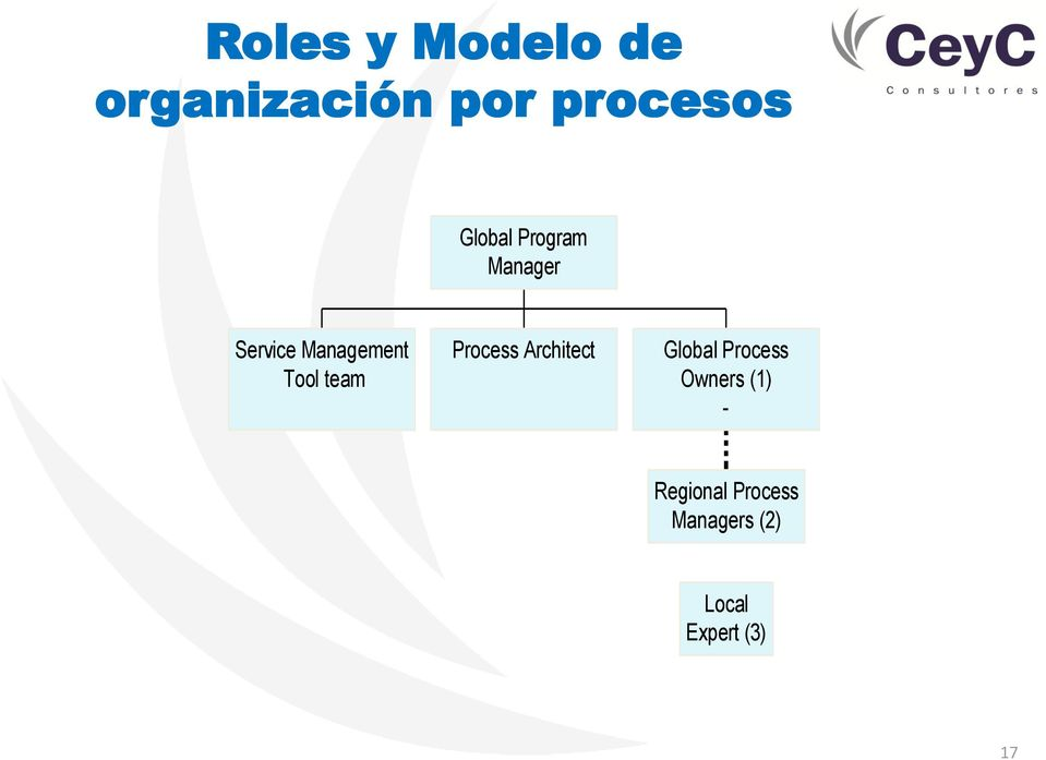 team Process Architect Global Process Owners