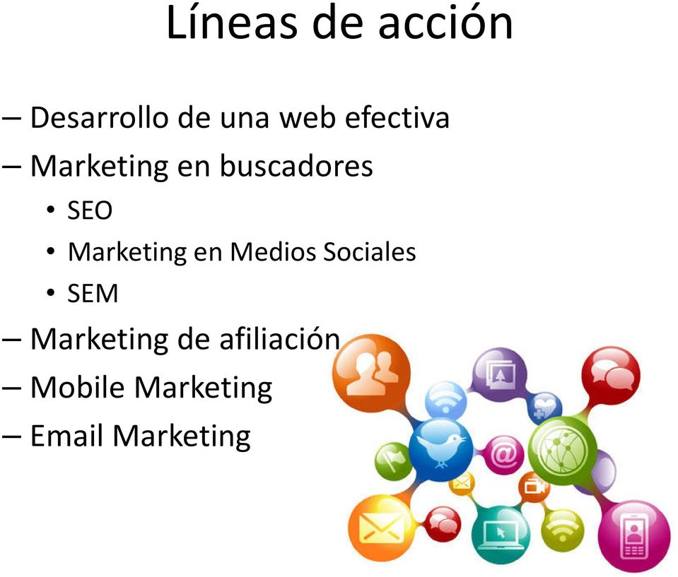 Marketing en Medios Sociales SEM