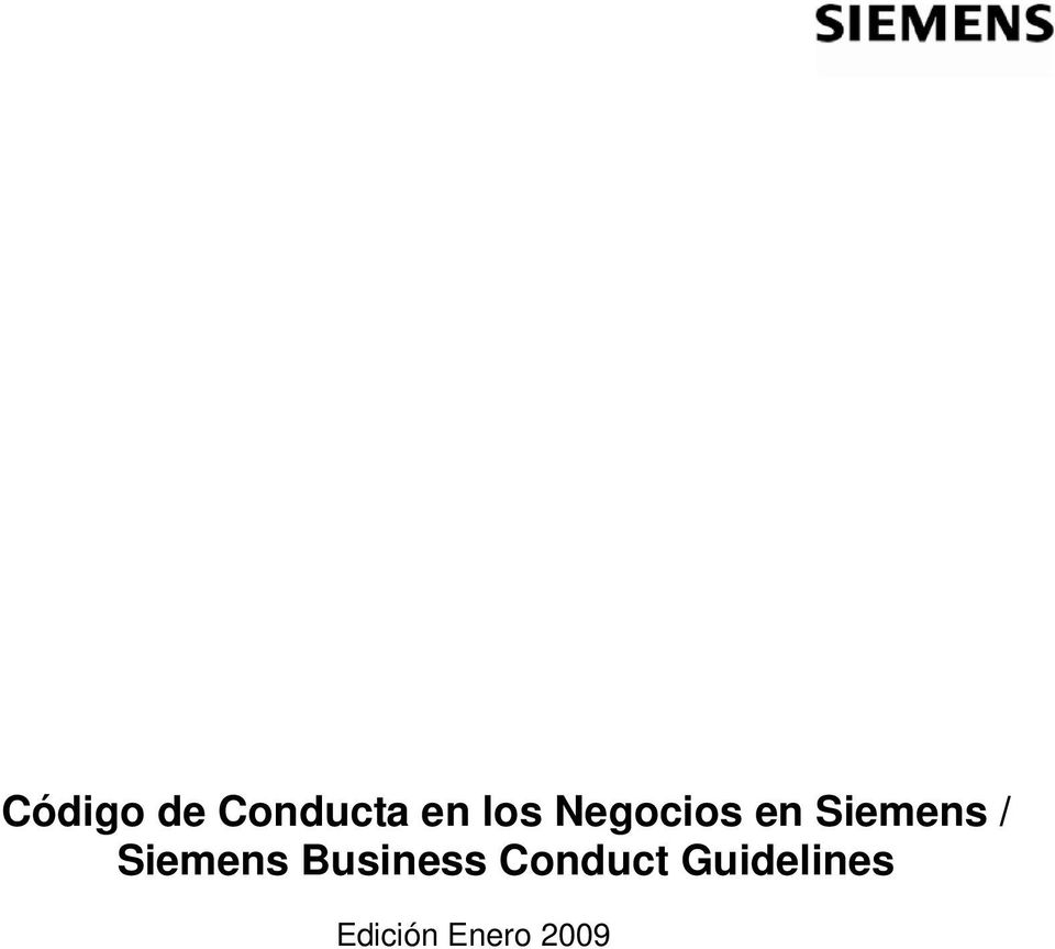 Siemens Business Conduct