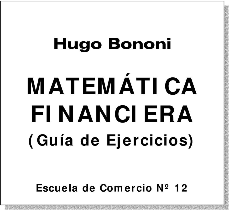 FINANCIERA (Guía de