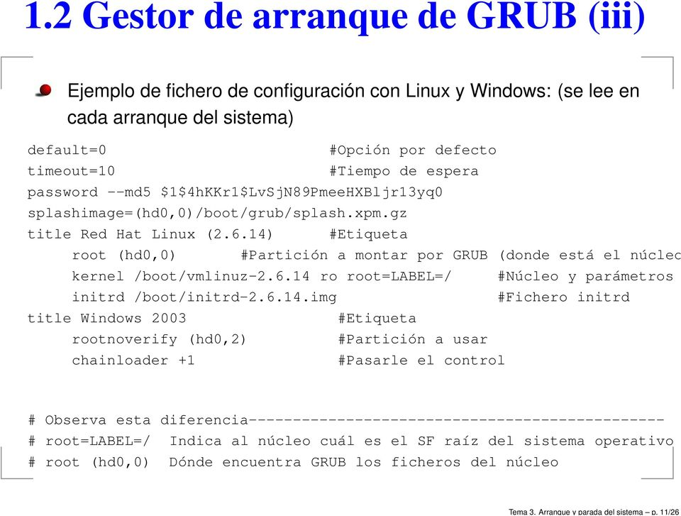 --md5 $1$4hKKr1$LvSjN89PmeeHXBljr13yq0 splashimage=(hd0,0)/boot/grub/splash.xpm.gz title Red Hat Linux (2.6.
